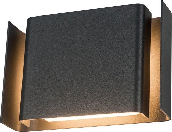 Уличный настенный светильник Gran Via серого цвета