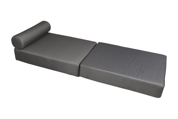 Кресло-кровать с валиком и подушкой