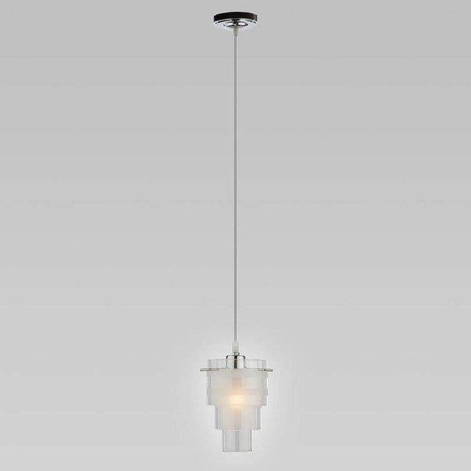 Подвесной светильник с прозрачным плафоном