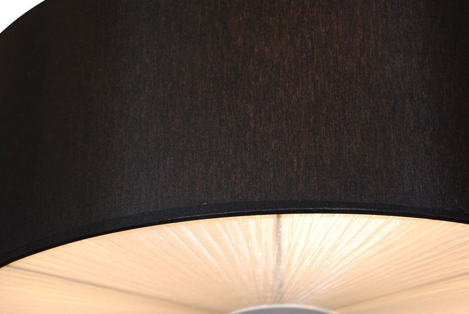 Подвесной светильник Drum с текстильным абажуром