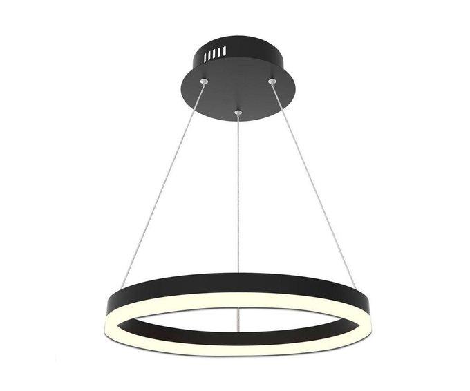 Подвесной светодиодный светильник Тор-Эко черного цвета