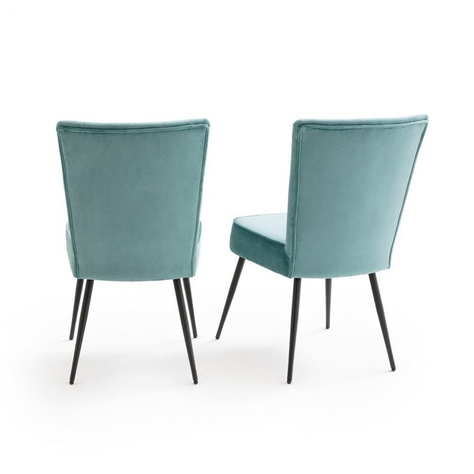 Комплект из двух стульев Ronda цвета зеленый шалфей