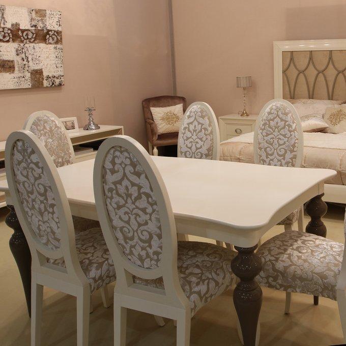 Обеденный стол раздвижной MUGALI GALIANO PASION из массива корабельной сосны и мдф