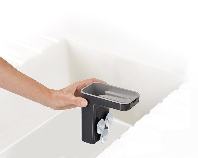 Органайзер для раковины Sink Pod серого цвета