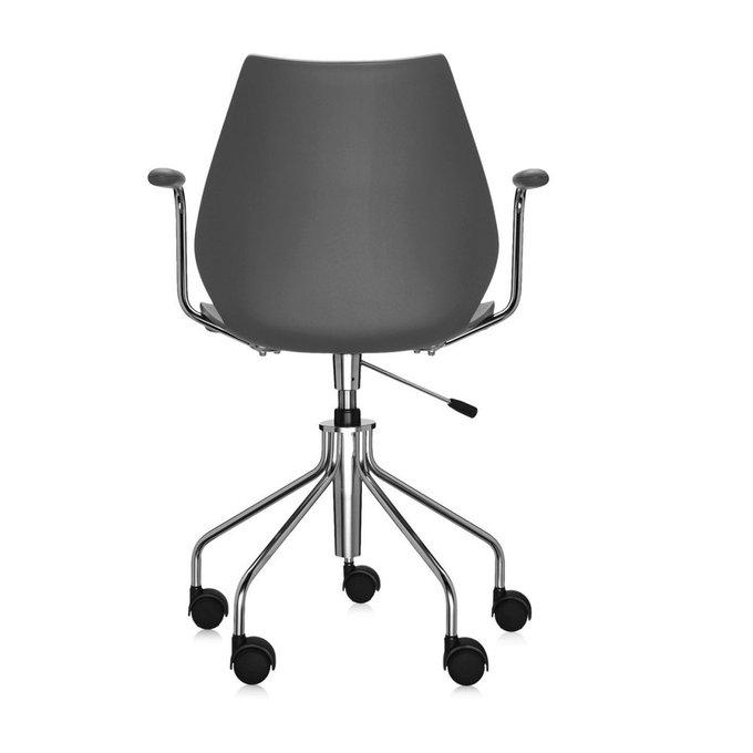 Офисный стул Maui темно-серого цвета