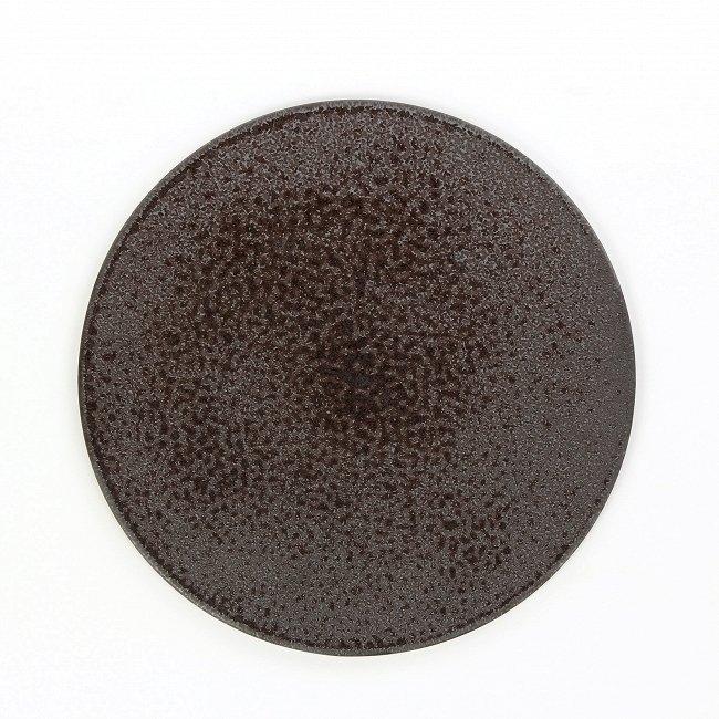 Тарелка Shell черного цвета