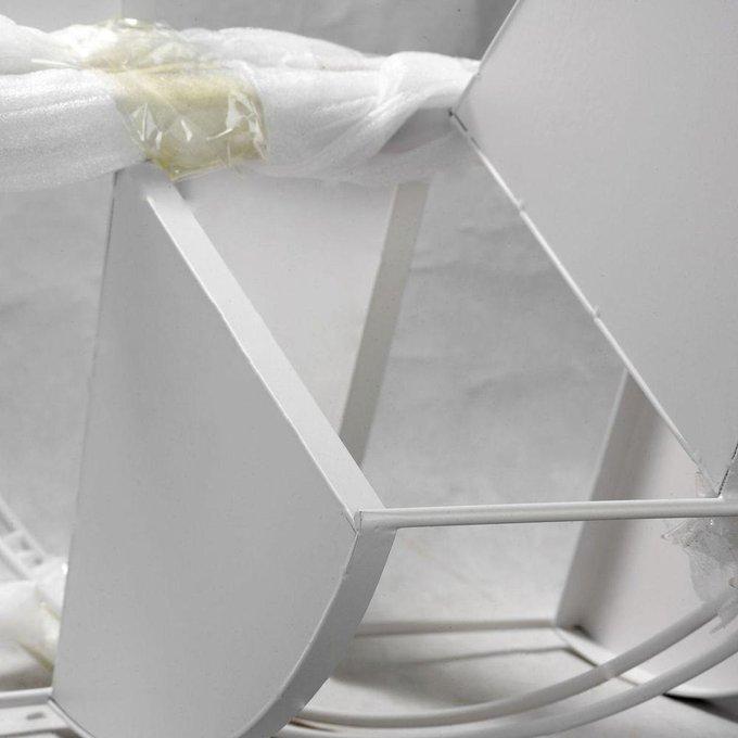 Торшер Wrangell белого цвета