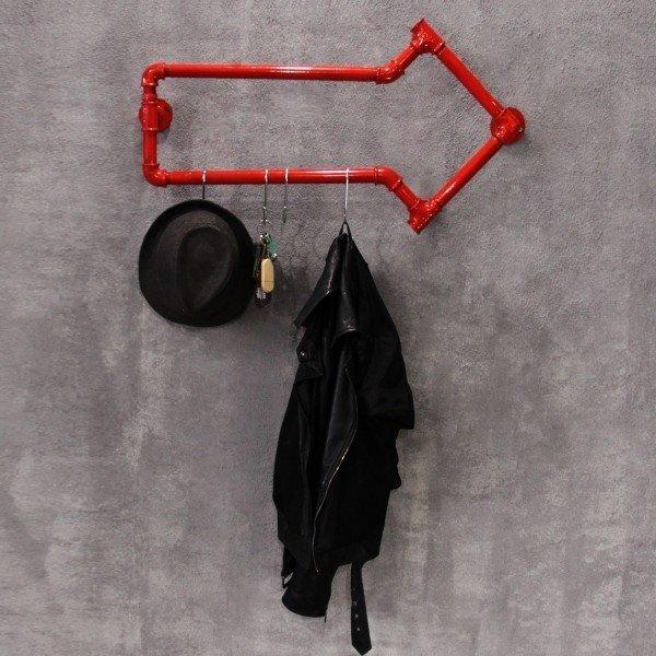 Вешалка Стрелка с крючками для одежды