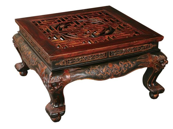 Стол для кана Фан-Чжо, Династия Цин