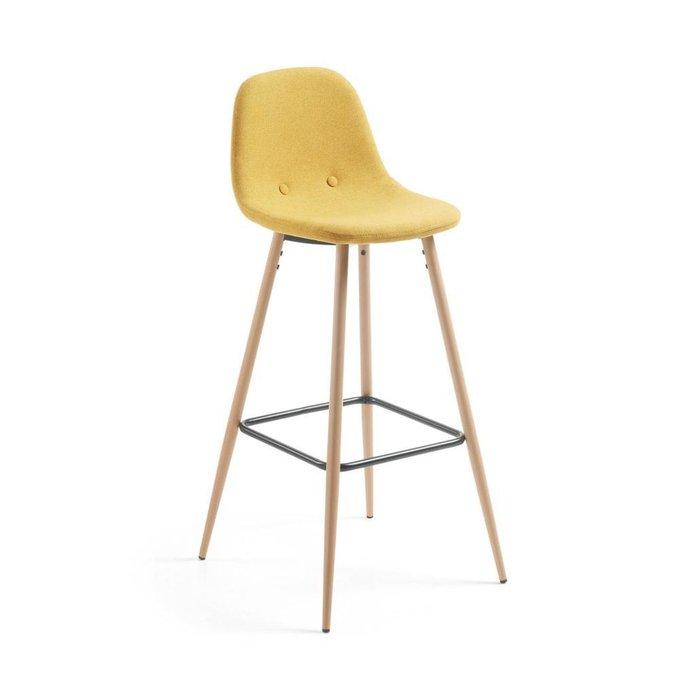 Полубарный стул Nilson желтого цвета