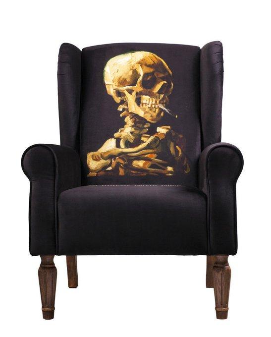 Кресло VanderGraaf с каркасом и ножками из дуба