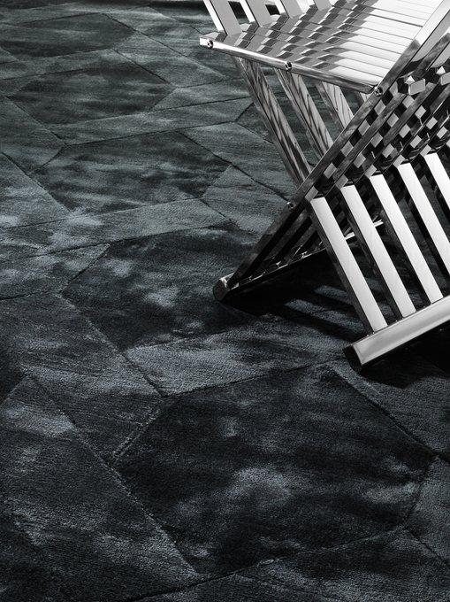 Ковер George темно-серого цвета 200х300