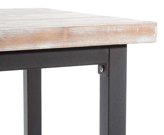 Барный стол с полкой
