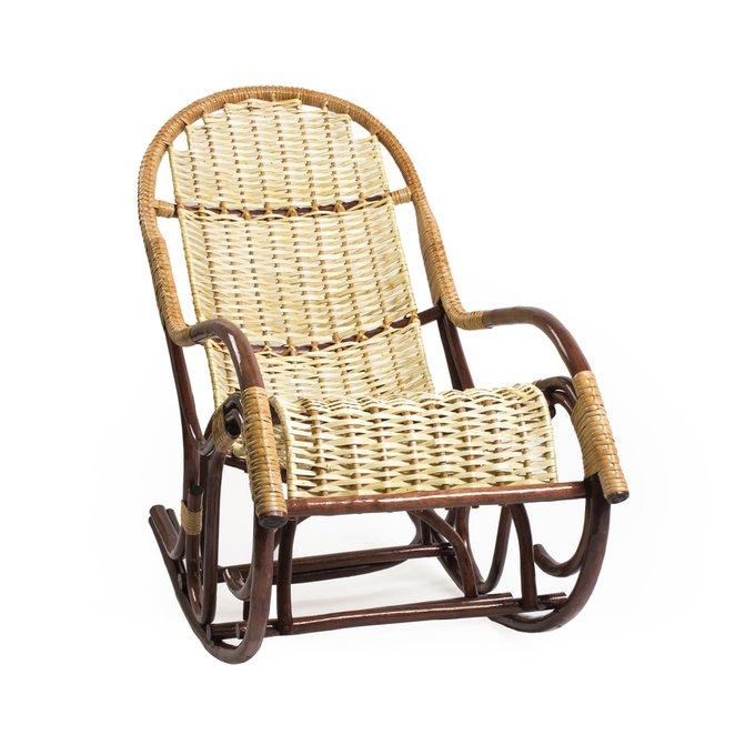 Кресло-качалка Усмань из ивовой лозы