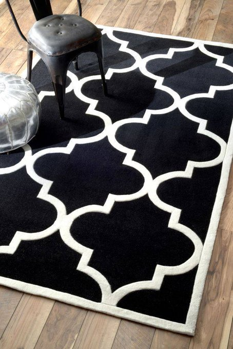 Ковер RUGSBE Marrakech black 120х180 см