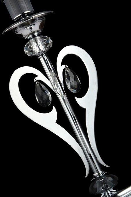 Настольная лампа Mina с черным абажуром