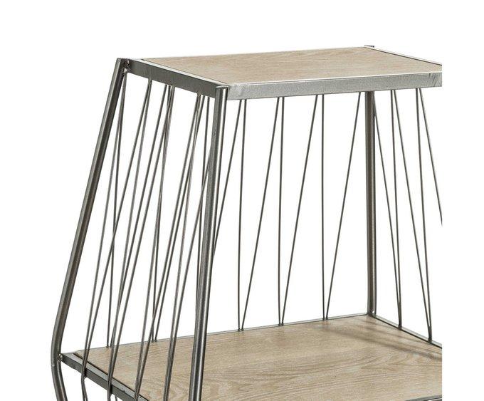 Этажерка-столик с тремя полками