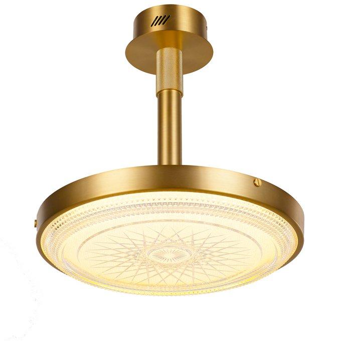 Потолочный светильник золотого цвета