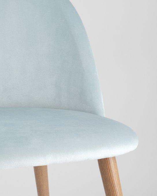 Стул Лион пыльно-голубого цвета
