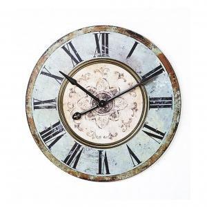 Часы Round wood wall
