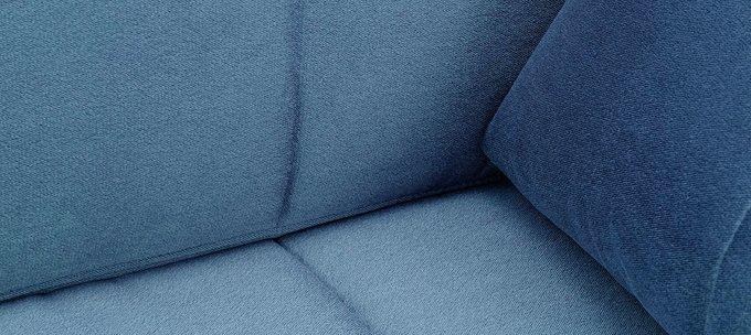 Шезлонг с подлокотниками Дудинка Galaxy синего цвета