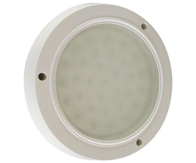 Настенно-потолочный светодиодный светильник Сигма из пластика