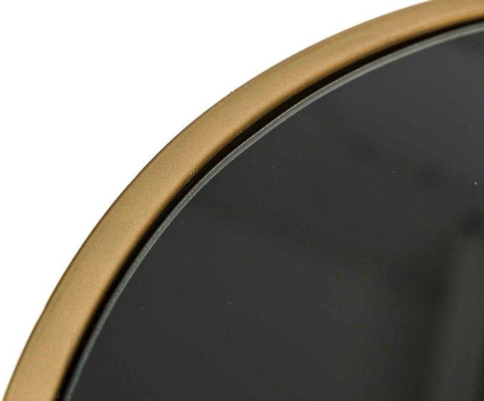 Стол кофейный с черной столешницей