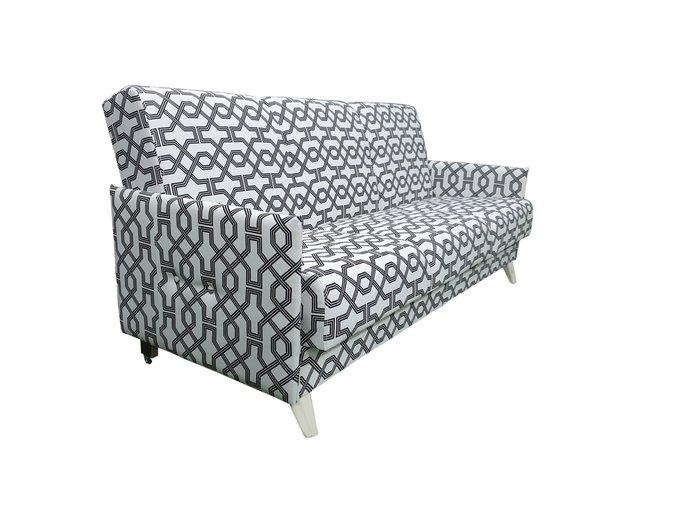 Диван-кровать Scand New Modern черно-серого цвета