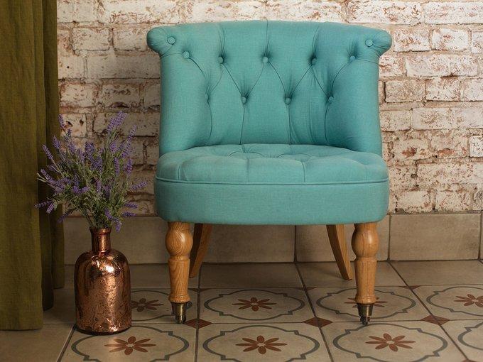 Кресло Visconte синего цвета