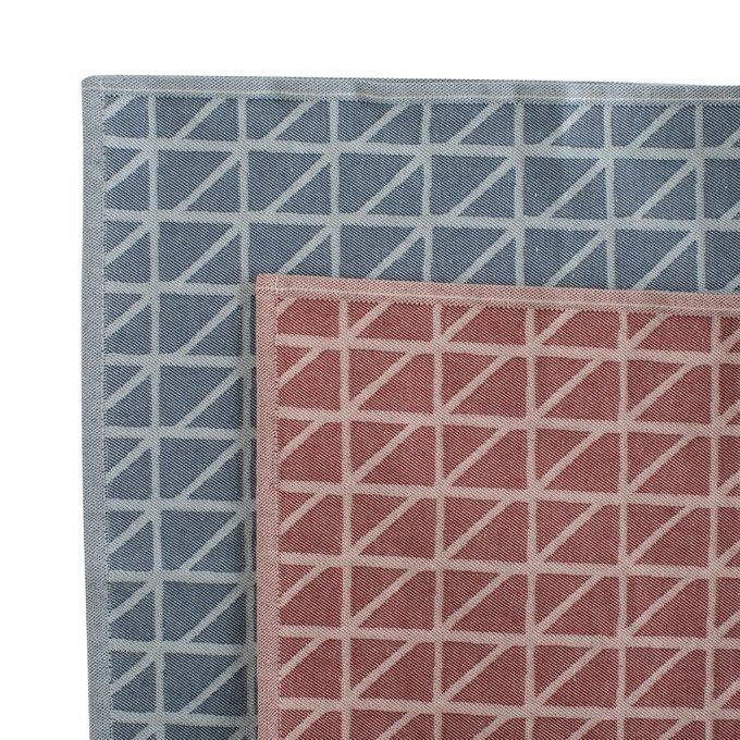Кухонное полотенце Twist с принтом из хлопка