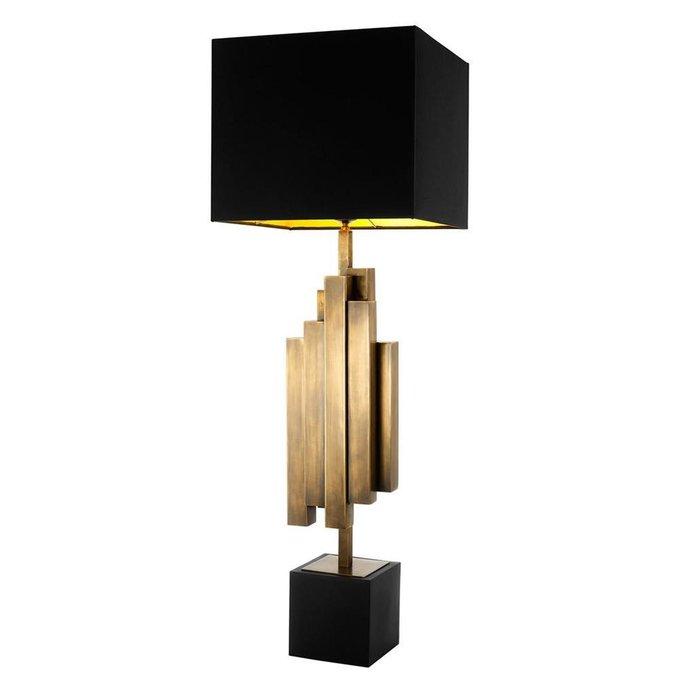 Лампа Beau Rivage черного цвета