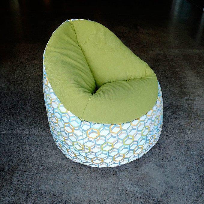 Кресло-мешок Пенёк Соты