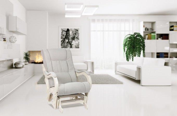 Кресло-глайдер Модель 78 с отделкой Verona Vanilla
