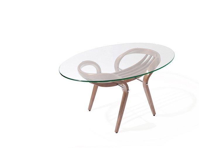 Журнальный стол Apriori V со стеклянной столешницей