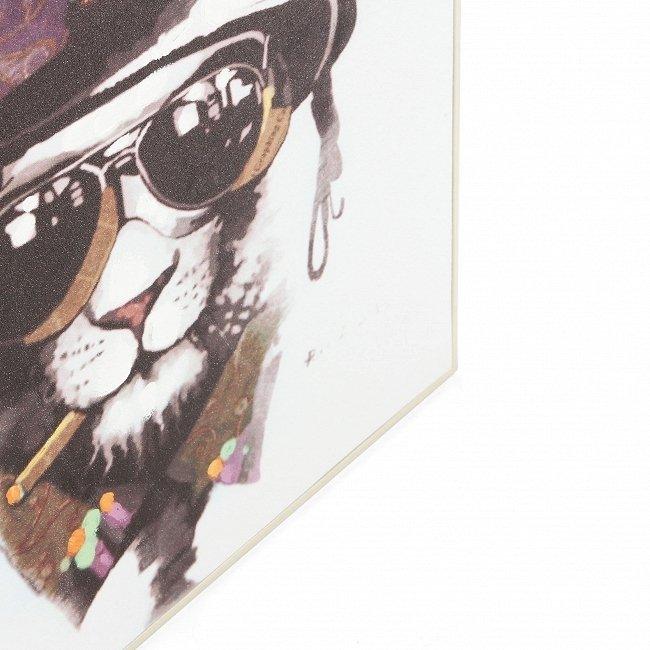 Картина на холсте Slow Leopard с подрамником 52х52