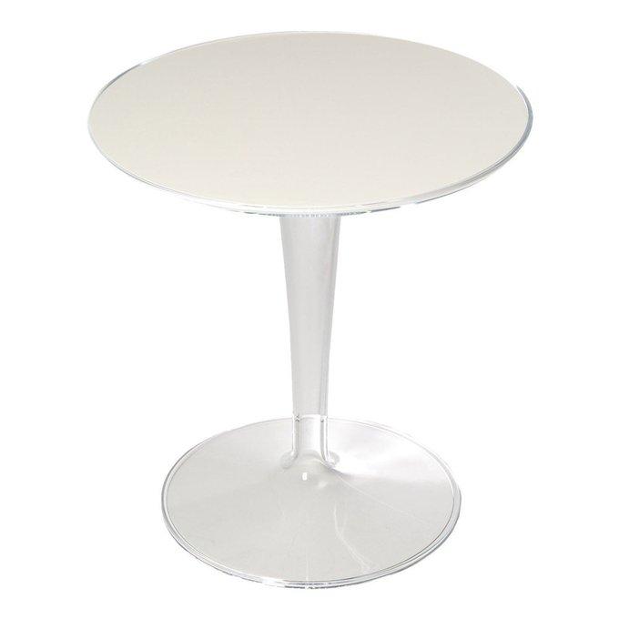 Кофейный стол TipTop с белой столешницей