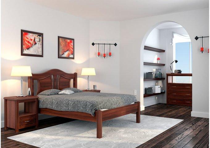 Кровать Авиньон бук-орех 160х200