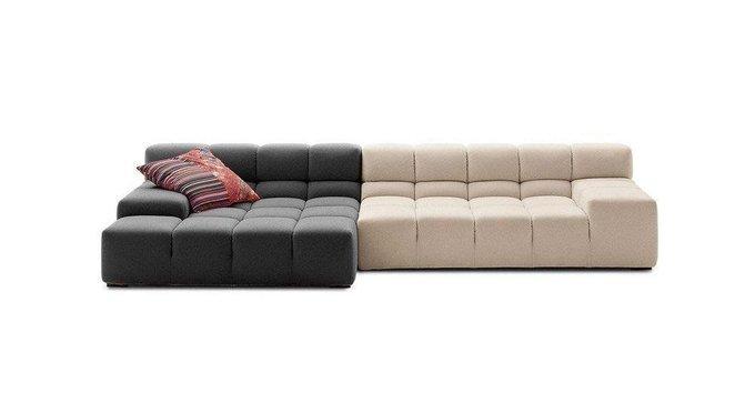 Диван Tufty-Time Sofa бежево-серого цвета