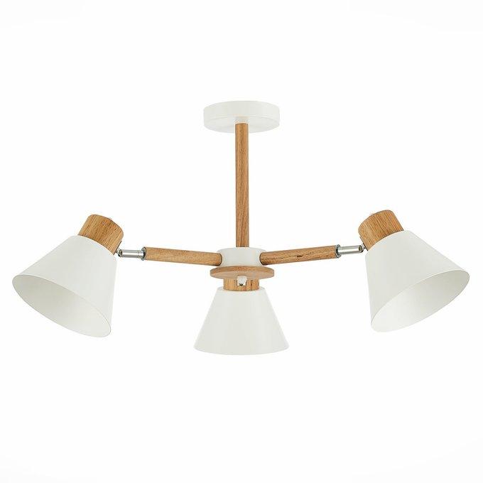 Светильник потолочный с белыми плафонами