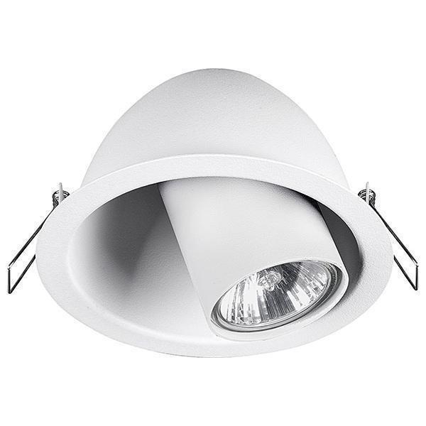Встраиваемый светильник Dot белого цвета