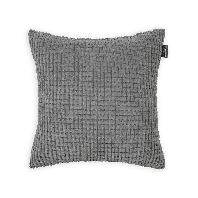 Декоративная подушка Civic Grafit темно-серого цвета