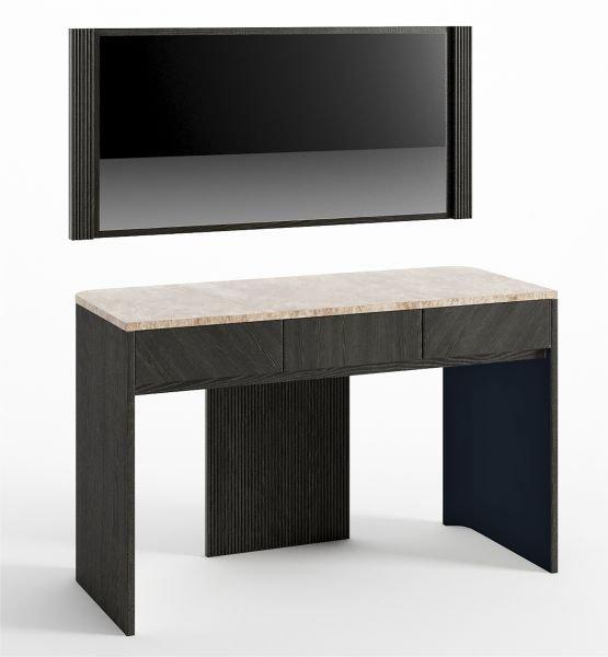 Стол для макияжа и зеркало Briotti цвет Лазурь