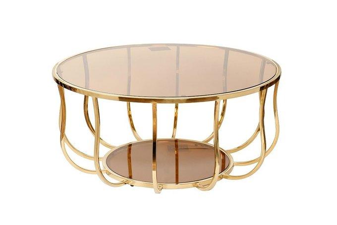 Журнальный столик Elegant со стеклянной столешницей