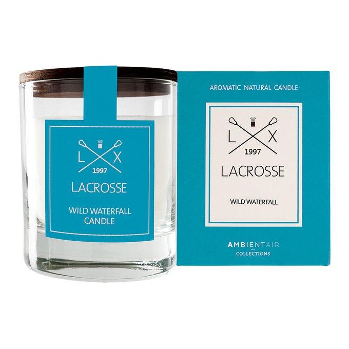 Ароматическая свеча в стекле «дикий водопад» Ambientair lacrosse круглая
