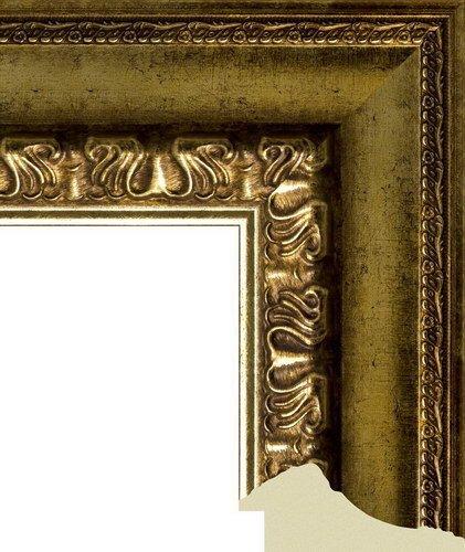 """Зеркало большое в коричневой декоративной раме """"Кампания"""""""