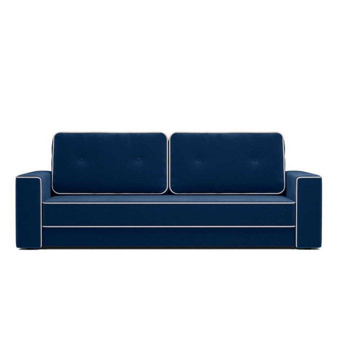 Диван-кровать Стаут синего цвета