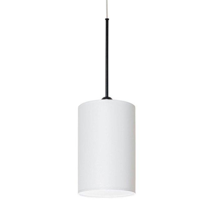 Подвесной светильник Roller с абажуром белого цвета