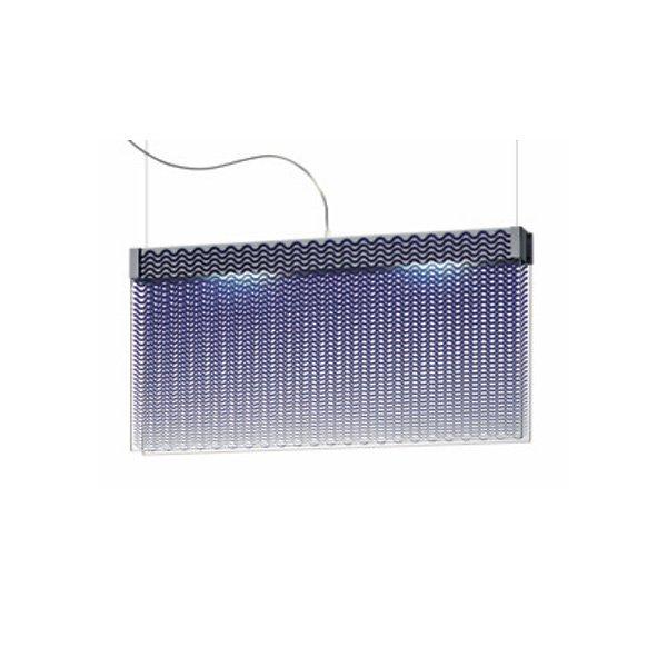 Подвесной светильник Fabbian MOTION с плафоном из фактурного стекла