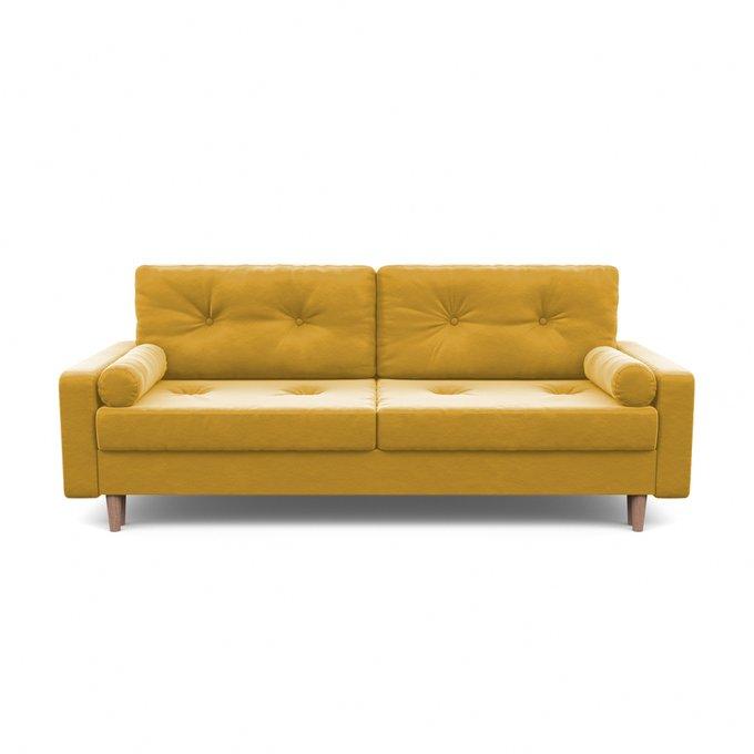 Диван-кровать Дэн желтого цвета