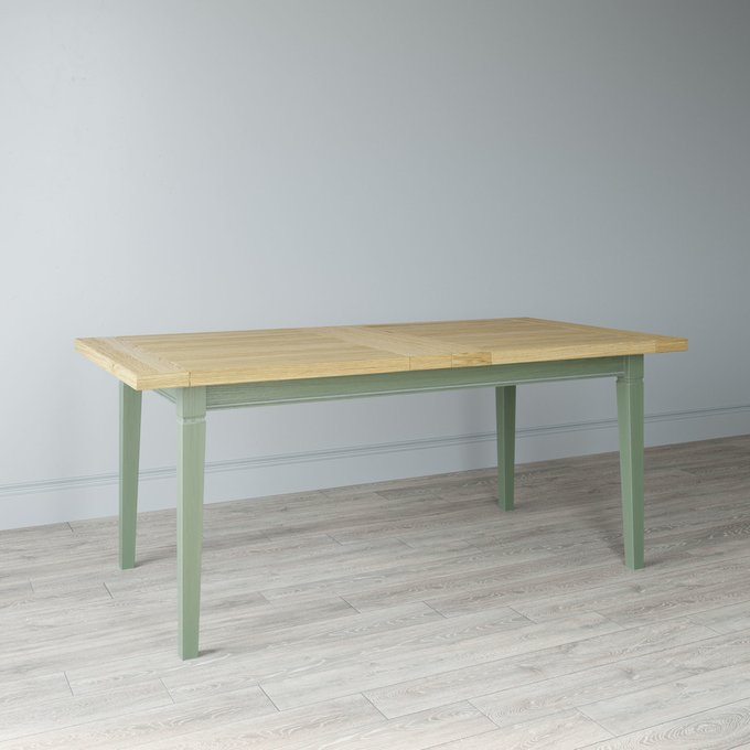 Стол обеденный раскладной Olivia Grande цвета натуральный дуб